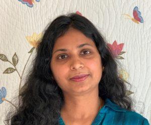 <strong>Dr. Anuradha Balasubramanian, Preprimary Co-Teacher</strong>